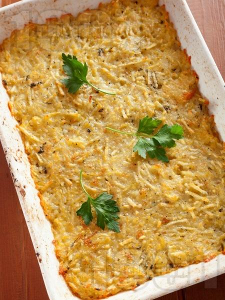 Класически картофен пататник - лесна и бърза рецепта - снимка на рецептата